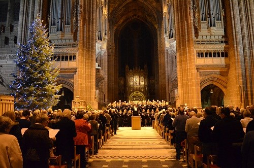 Christmas Choir at the Cathedral