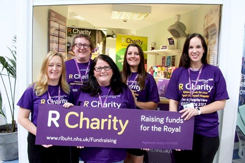 The R Charity team