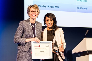 Dr Dutt NIHR-BSH Researcher of the Year Award